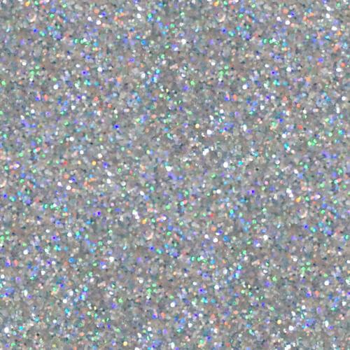 Ultraflex Glitter Holographic Silver Skat Katz Heat